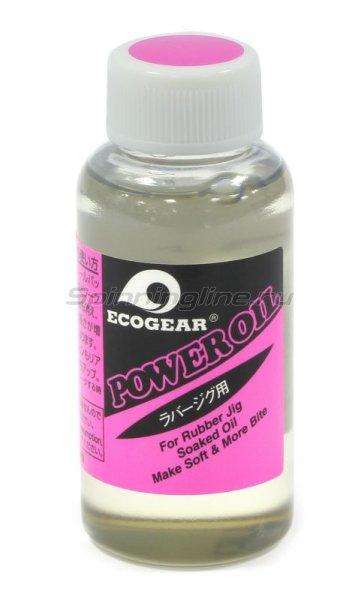 Масло для силикона Ecogear Power Oil (For Rubber Jig) 50мл -  1