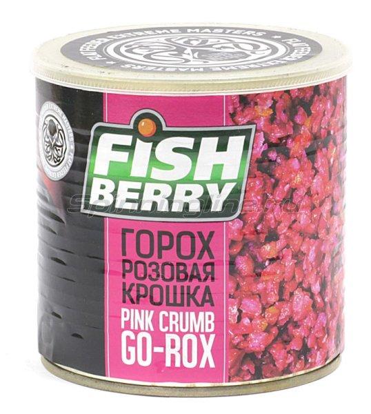 Зерновая смесь Fishberry Сергея Попова Гороховая крошка розовая корица 430мл -  1