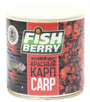 Зерновая смесь Fishberry Сергея Попова Зерновой микс Карп Красный клубника 430 мл