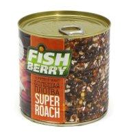 Зерновая смесь Fishberry Сергея Попова Зерновой микс Большая плотва кориандр-фенхель 430 мл
