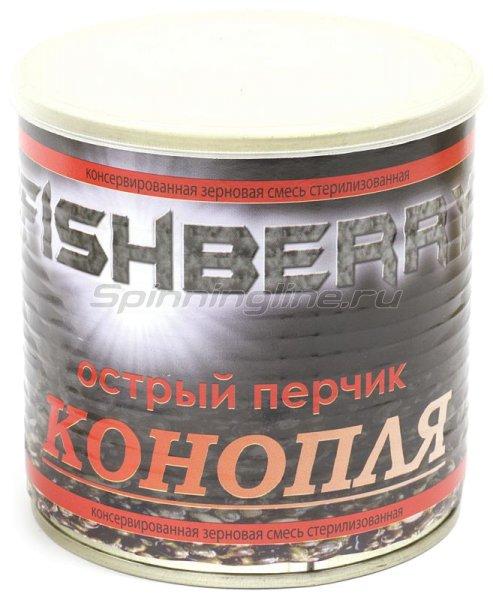 Зерновая смесь Fishberry Конопля Перчик 430мл -  1