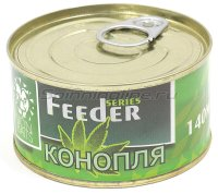 Зерновая смесь Lion Baits Feeder Конопля 140мл
