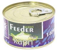 Зерновая смесь Lion Baits Feeder Карп 140мл