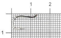 Крючок Beak Ring BN №8