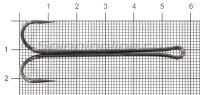Двойник Double Hook X - Long Shank №2/0