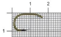 Крючок Gurza Select Carp C Ring №6