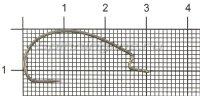 Крючок Hayabusa FF307 TNS №3
