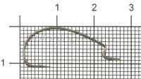 Крючок Hayabusa FF307 TNS №5