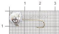 Микро-Джиг шар Fish Gold 3,5гр кр.Gamakatsu №8