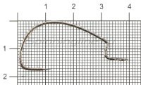 Крючок Worm 330 Bottom Jigging №1/0