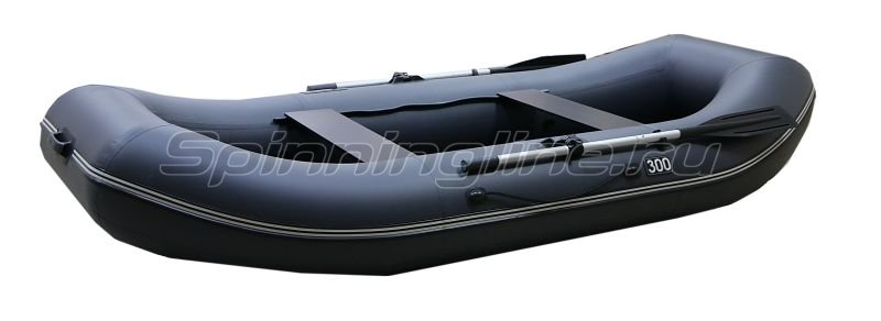 Лодка ПВХ Gavial Lux 300 Слань серый -  1