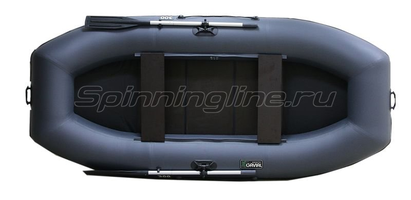 Лодка ПВХ Gavial Lux 300 Слань серый -  5
