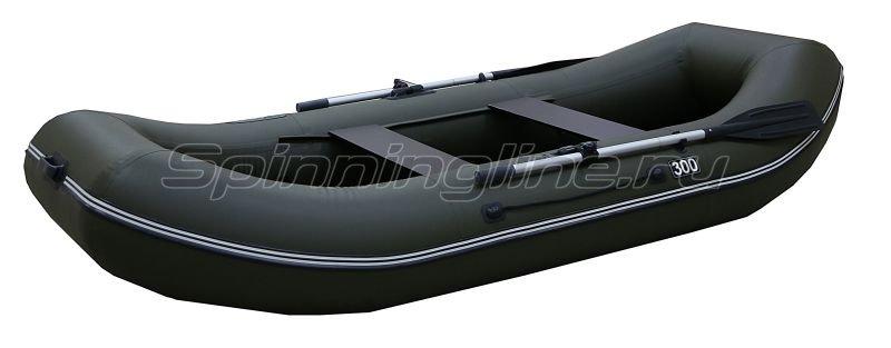 Лодка ПВХ Gavial Lux 300 Слань хаки -  1