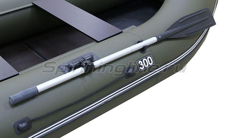 Лодка ПВХ Gavial Lux 300 Слань хаки -  2