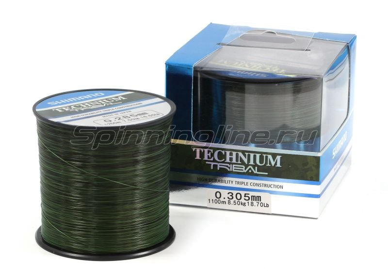 Леска Technium Trib 1100м 0,305мм -  1
