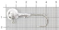 Джиг-головка Gamakatsu 11гр 2/0 упаковка 5 штук