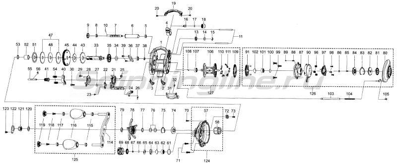 Катушка Abu Garcia Revo4 Premier LP -  6