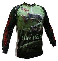 Футболка с длинным рукавом Crazy Fish Pike Hunter Camo M