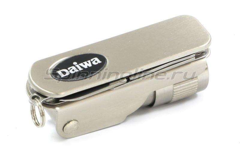 Ножницы складные с фонарем Daiwa Led With Light Outdoor Tool -  6