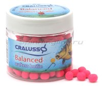 Бойлы Balanced Wafters Boilie 7х9мм 20гр Strawberry