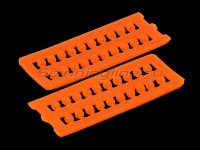 Бусины Attractor Beads 3,0 оранжевый