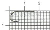 Крючок Crazy Fish Micro Jig Joint Hook №8