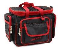 Сумка Markfish Minibag черно-красная с коробками Trivol