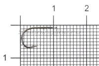 Крючок Chinu Flatted BN №0.5
