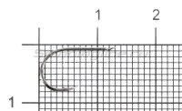 Крючок Chinu Flatted BN №1