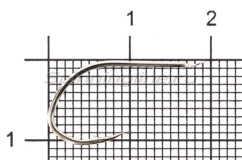 Крючок Ryobi Shin Aji Flatted Nickel №12 -  1