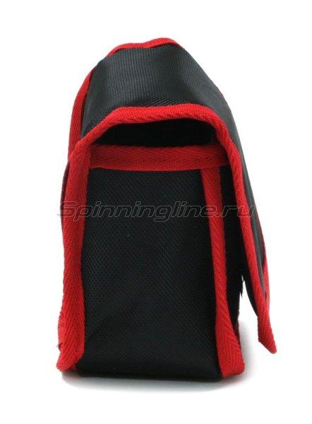 Чехол Markfish для катушки перекидной черно-красный -  2