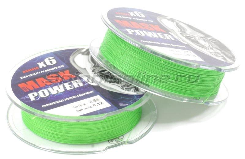 Шнур Akkoi Mask Power X6 150м 0,12мм Green -  2