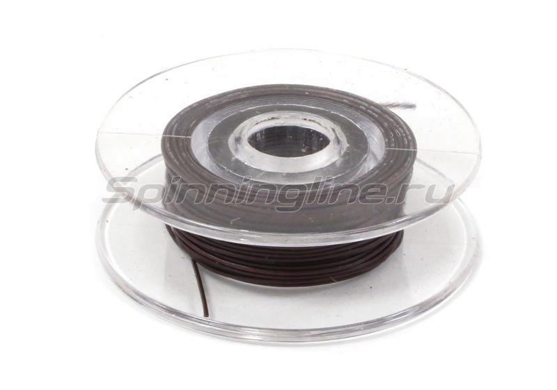 Поводковый материал Carp Pro 7м 25LB коричневый -  2