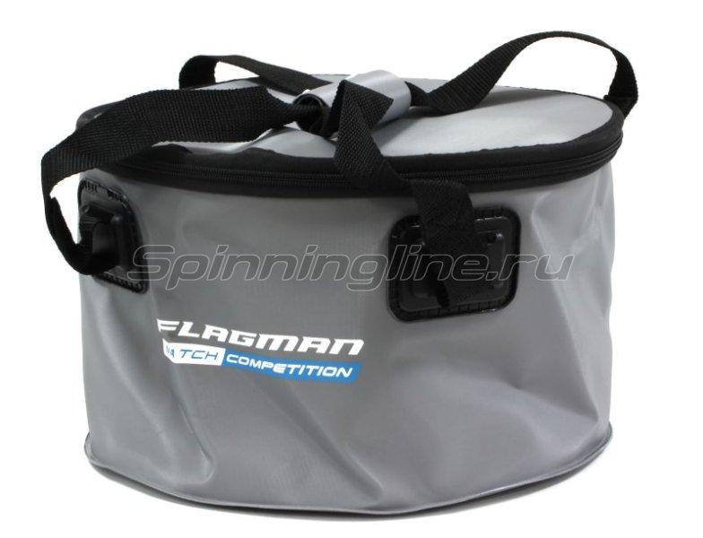 Ведро для прикормки Flagman 30x18cм -  1
