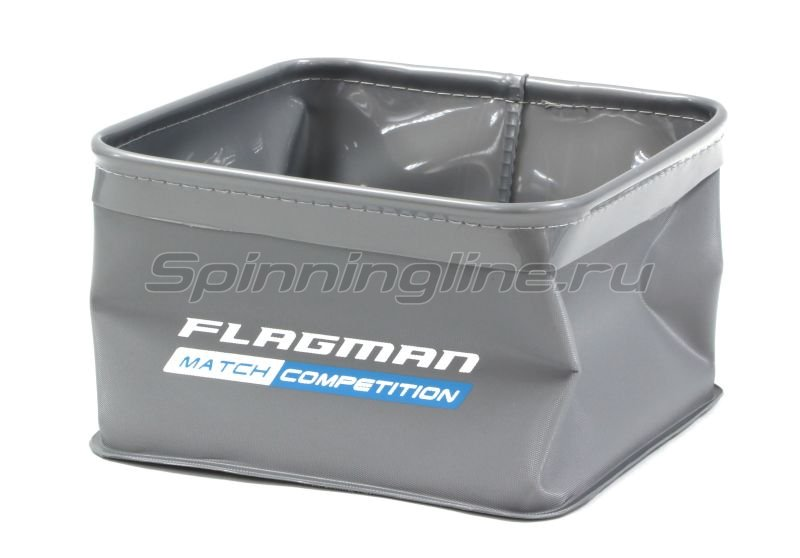 Ведро для замеса прикормки Flagman 18,5х18,5х11см -  1