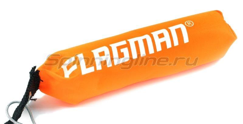 Кукан Flagman на 7 застежек с поплавком -  2