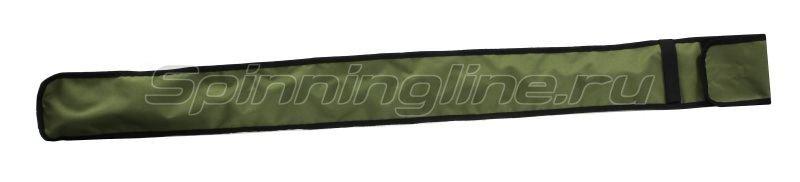 Чехол для удилищ IdeaFisher 90см зеленый -  1