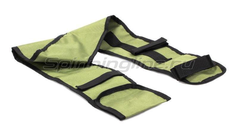 Чехол для удилищ IdeaFisher 90см зеленый -  2
