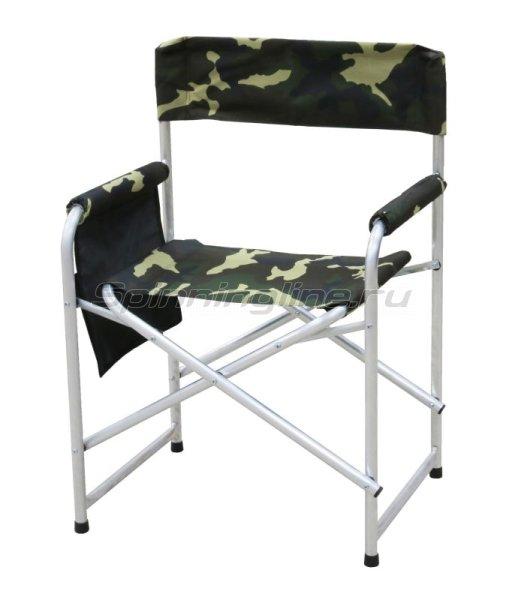 Кресло Следопыт складное 595х450х800мм с карманом на подлокотнике -  1