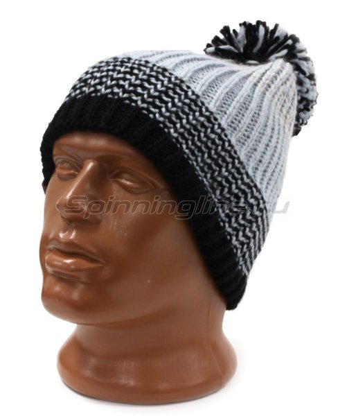 Шапка Buff Knitted&Polar Hat Borae Grey -  1