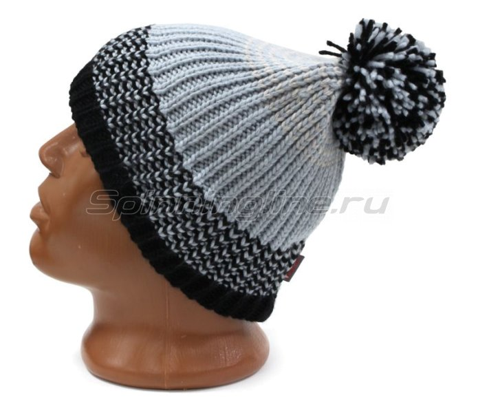 Шапка Buff Knitted&Polar Hat Borae Grey -  2