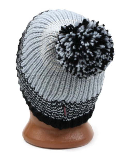 Шапка Buff Knitted&Polar Hat Borae Grey -  3