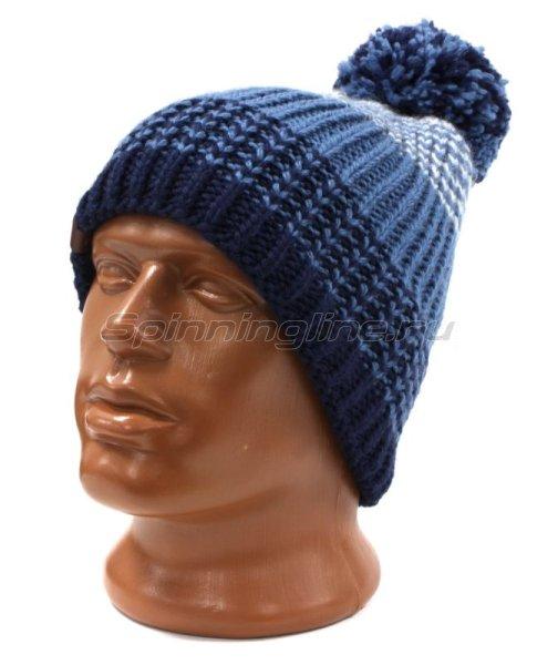 Шапка Buff Knitted&Polar Hat Borae Mazarine Blue -  1