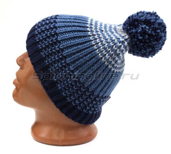 Шапка Buff Knitted&Polar Hat Borae Mazarine Blue -  2