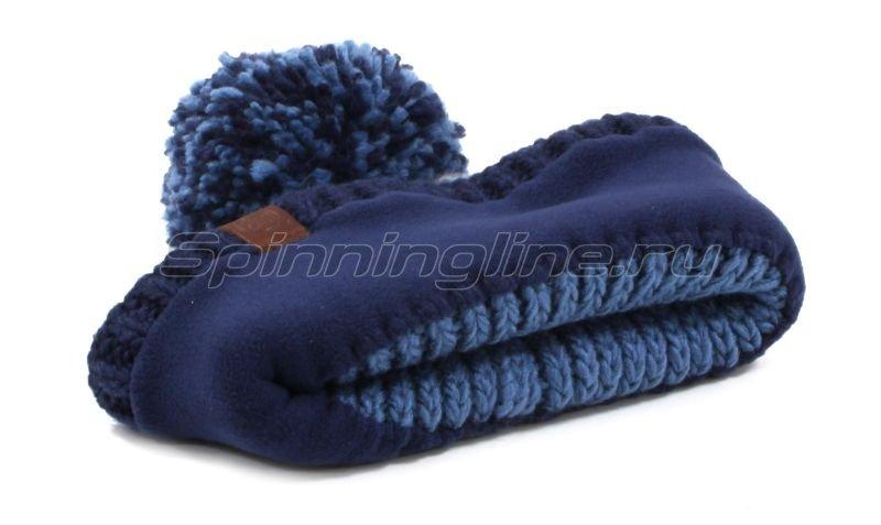 Шапка Buff Knitted&Polar Hat Borae Mazarine Blue -  4