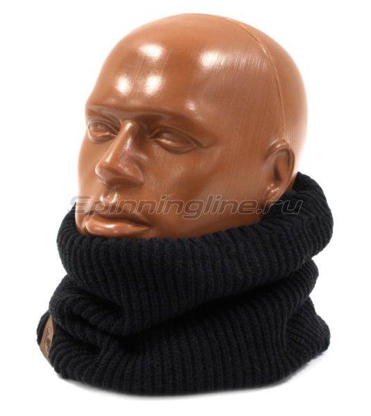 Шарф Buff Knitted&Polar Neckwarmer Rutger Graphite -  1