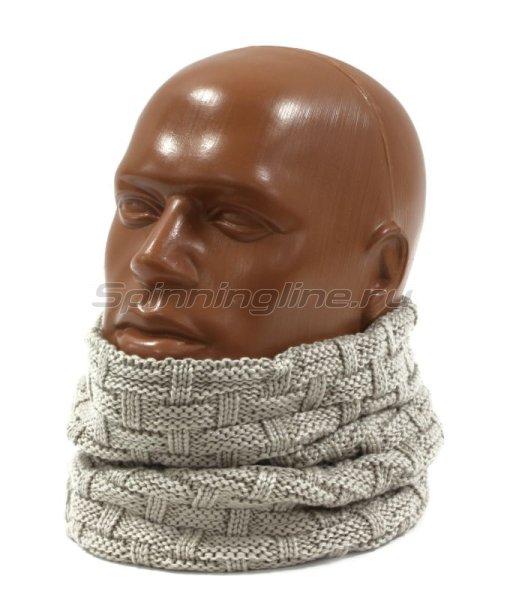 Шарф Buff Knitted&Polar Neckwarmer Airon Mineral Grey -  1