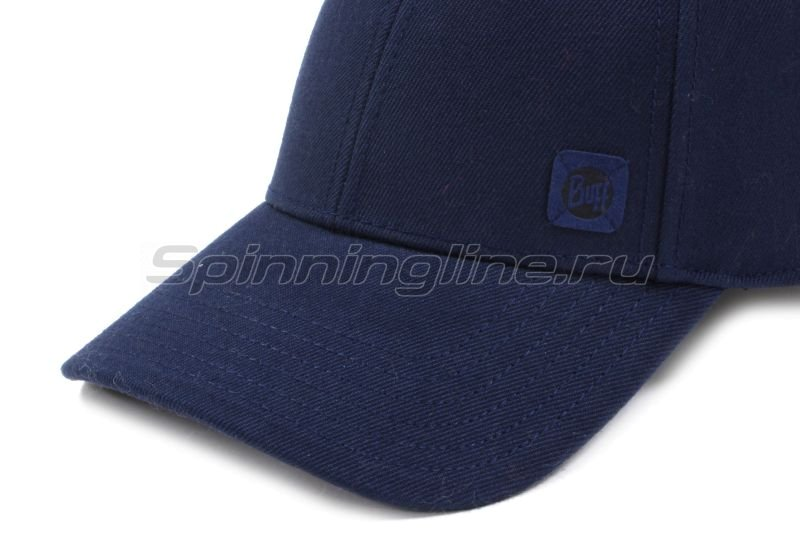 Кепка Buff Baseball Cap Solid Night Blue -  4
