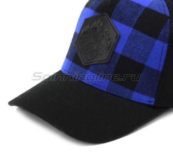 Кепка Buff Trucker Cap Plaid Cape Blue -  4