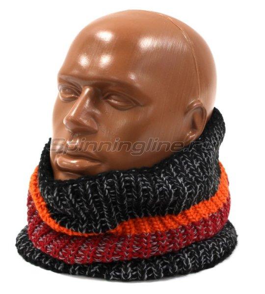 Шарф Buff Knitted&Polar Neckwarmer Stig Black -  1